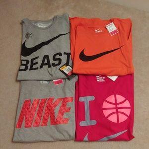Brand new nike shirt bundle!
